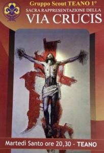 <H2>Teano &#8211; Via Crucis alla trentottesima edizione - <br><H4><font color='black'> martedì 16 in apertura della Settimana Santa