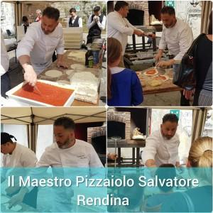 Sasà e la sua pizza: la felicità dei bambini delle scuole.