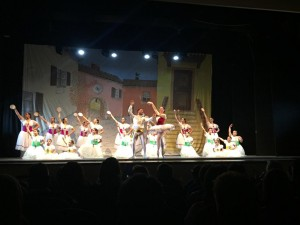 Saggio di fine anno accademico per l'A.S.D. Effetto danza di Teano.