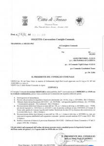 Convocato il Consiglio comunale per il giorno 8/8/2019