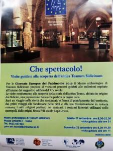Appuntamento con la Cultura: Le Giornate europee del Patrimonio 2019.