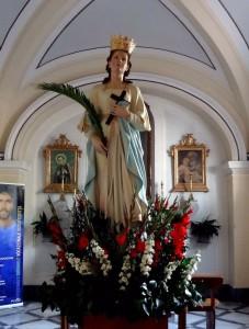 Santa Reparata: la giovane compatrona.