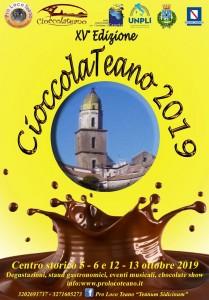 """""""Ci siamo! Ecco a voi Cioccolateano 2019""""."""