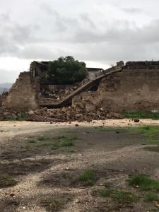 Teano Scalo : crolla abitazione.