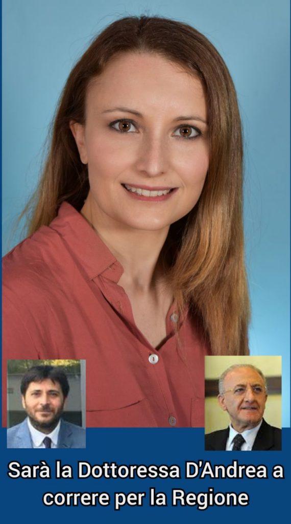 Sarà l'Avvocato Antonella D'Andrea la candidata alla Regione.