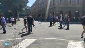 Da Napoli a Roma: scontri sociali.