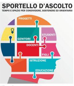 """Apre lo sportello di ascolto dell'Istituto Comprensivo """"Vincenzo Laurenza""""."""