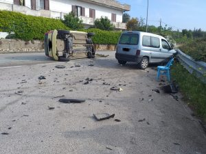 Brutto incidente in località Settequerce.